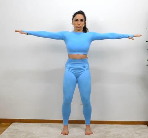 Elevaciones laterales entrenamiento de hombros