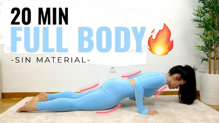 entrenamiento fullbody intenso para todo el cuerpo en casa
